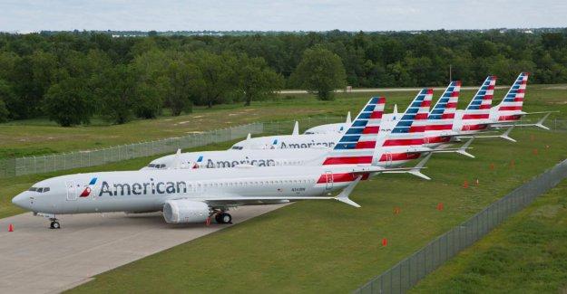 Boeing-737-Max-zone d'exclusion aérienne American Airlines supprime encore plus de Vols
