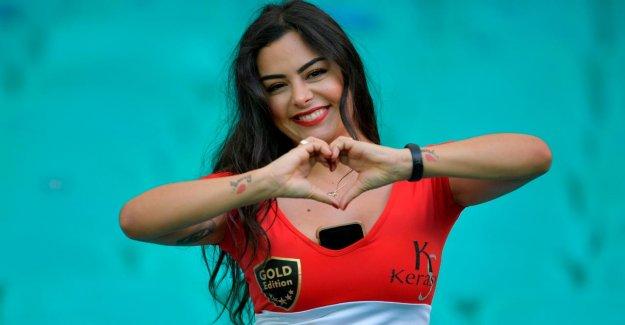 Copa América: le Paraguay Fan de Larissa Riquelme est de nouveau là