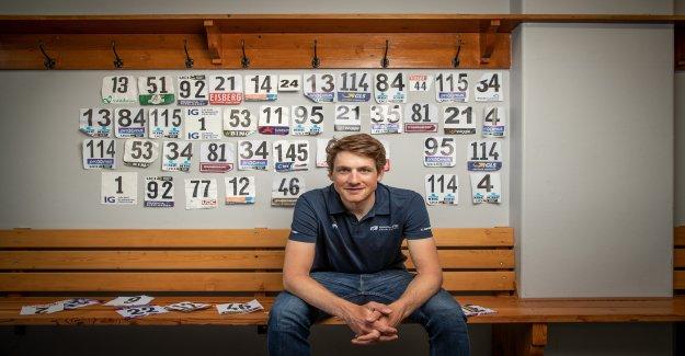 Cycliste Professionnel, Stefan Küng avant le Tour de Suisse - Vue