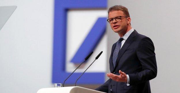 Deutsche Bank prévoit de Bad Bank, l'Action gagne en Dax