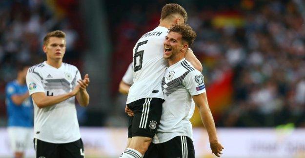 EM-Qualification 2020: l'Allemagne fabrique Estonie 8:0 ab