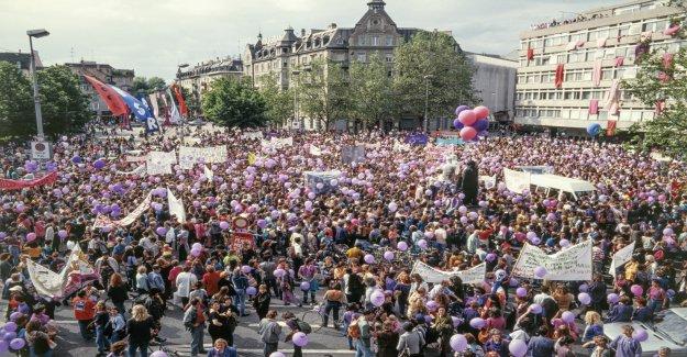 Frauenstreik: C'est dans les Villes de Suisse - Vue
