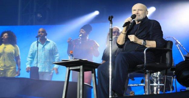 Hanovre-match à Domicile de la Star de: Phil Collins ouvre Stade de la Saison