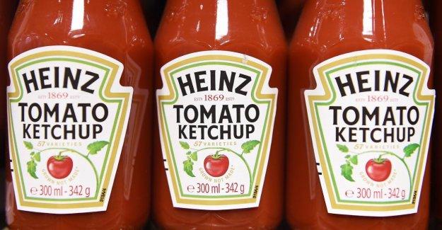 Heinz Ketchup maintenant de retour dans les Edeka-Étagère!