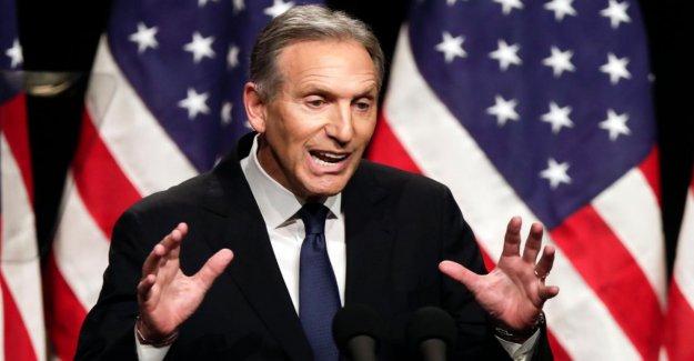Howard Schultz: Starbucks-Milliardaire veux pas Président des états-unis sont