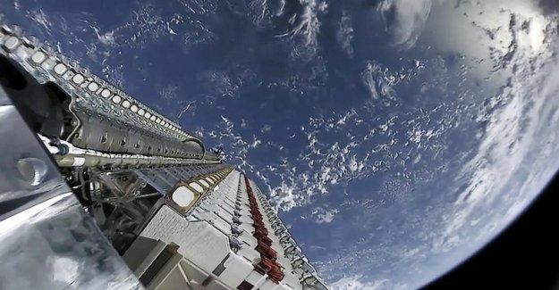 Les satellites de polluer notre beau Ciel