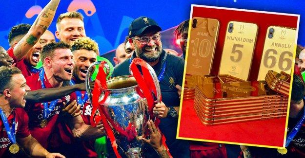 Liverpool: Jürgen Klopp et ses Stars ont maintenant de l'Or-Smartphone