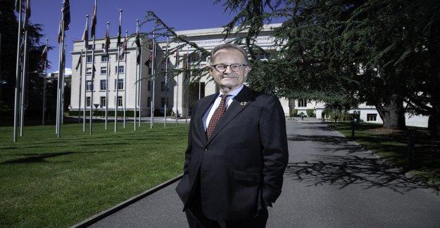 Marathon de l'Homme de l'Onu: Un Jour à Genève en Chef Michael Møller - Vue
