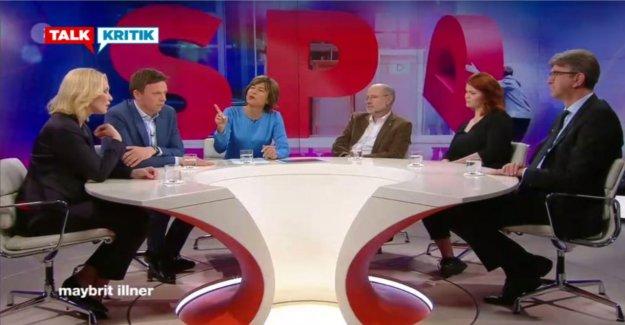 Maybrit Illner: Schwesig parle plutôt de la faute des autres