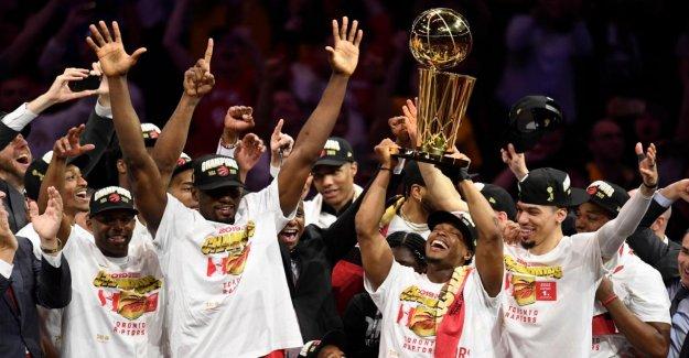 NBA Finals: Toronto Raptors battre les Golden State Warriors et les Maîtres