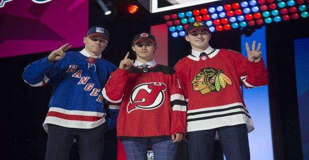 NHL Draft: Jack Hughes en tant que Numéro 1, tiré à Vue