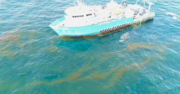 Plate-forme pétrolière 23051 avant 15 Ans et plus a diminué: ce sont de 17 000 Litres de Pétrole dans la Mer – tous les jours!
