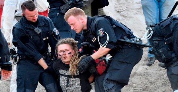 Police-Bilan de Charbon de Protestations: Trois Militants encore en Garde à vue