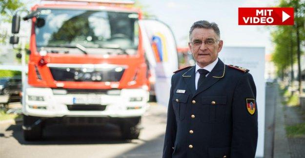 Sapeurs-pompiers Président sur le changement Climatique: les Incendies de forêt qui augmentera