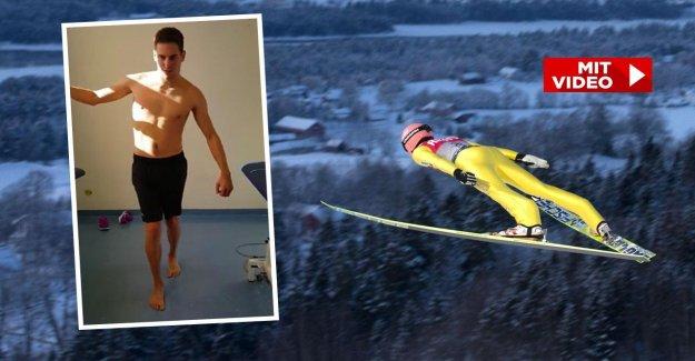 Saut à ski: Gelähmter Luc Müller, après l'Horreur Chute de nouveau aller