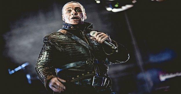 Till Lindemann a proposé Avocat qui se sent incomprise - Vue