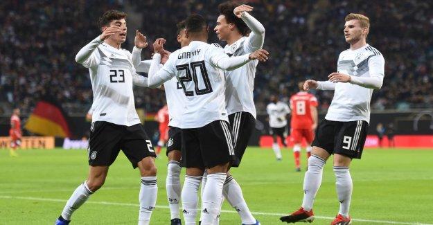 -U21: DFB-Stars Sané, Havertz et Gnabry avec la Vidéo pour les moins de 21 ans