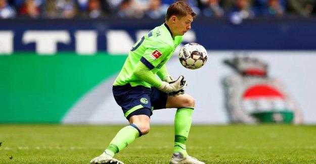 -U21: Schalke 04-Keeper Alexandre Nübel tremble pour faire de la Place dans les buts