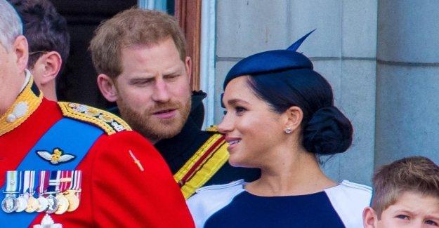 Un les lit sur les lèvres wills savoir: Harry a Meghan lors de la Reine-l'Anniversaire de la réprimande