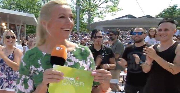 ZDF-Fernsehgarten: Twitter célèbre Rocker de la Pop Show