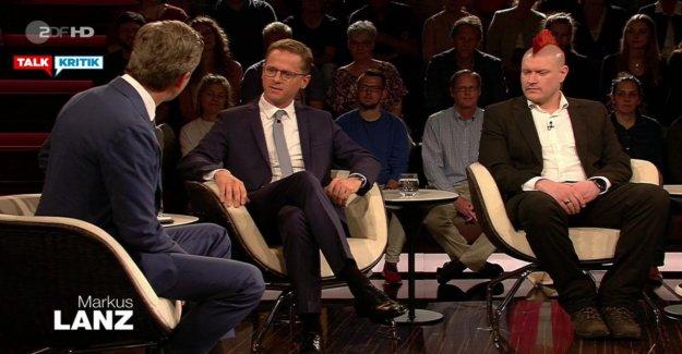 Zoff-Talk sur ZDF: Lanz grille de la CDU, les Politiciens avec des Questions AKK