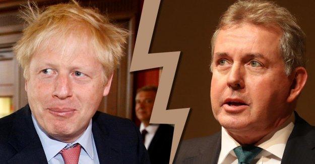 Affaire Britanniques Ambassadeur: Est Brexit-Boris le Caniche de Donald Trump?