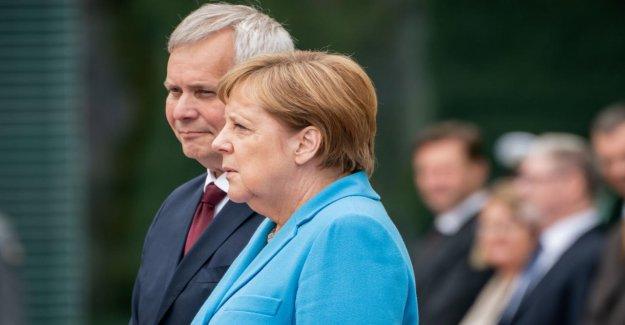 Angela Merkel: 3. Zitteranfall dans un peu plus de trois Semaines