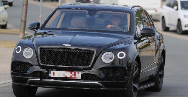 BVB: nouveau Venu Thorgan Hazard vient en Bentley Trainingsauftakt