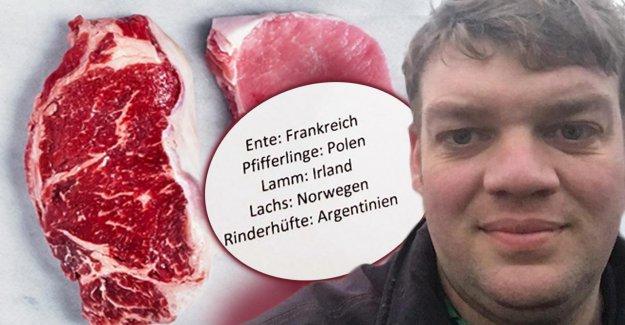 Bauer énervé à cause de Menu au Bundestag avec de la Vidéo