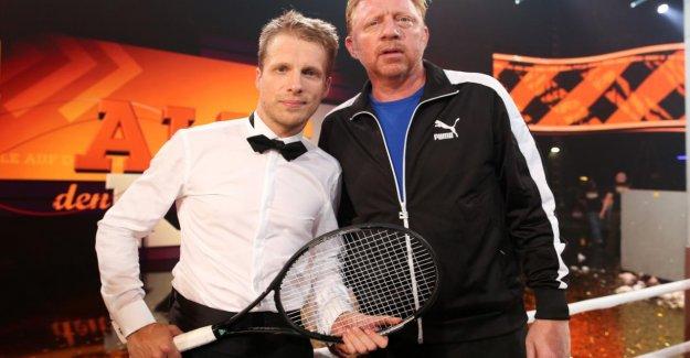 Boris Becker: Oliver Pocher remporté ses Trophées