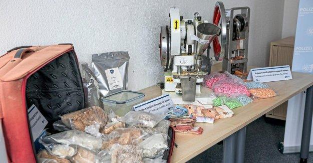 Cologne: Drogenbande – saisies de la Police des Pilules d'Ecstasy-Presse