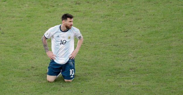 Copa America: Lionel Messi étouffants avant la demi-Finale Argentine - Brésil