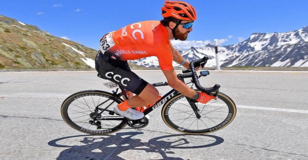 Cycliste Professionnel Geschke sur son Alimentation Vegan par le Tour de France