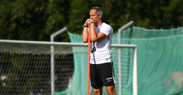 Eintracht Francfort: Adi, Il est bordé à sa Faible à partir de