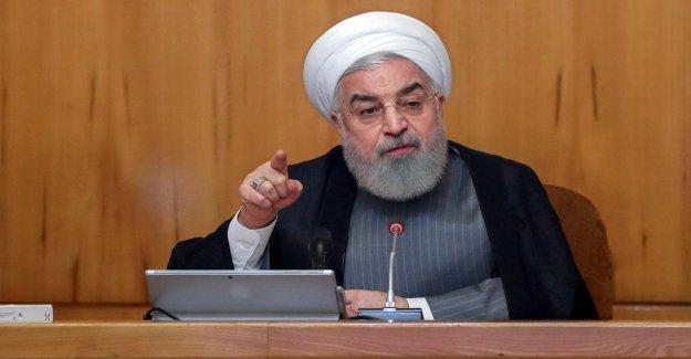 En raison de Pétrolier-Arrêt: l'Iran, le Président Ruhani menace de les Britanniques avec la Vengeance