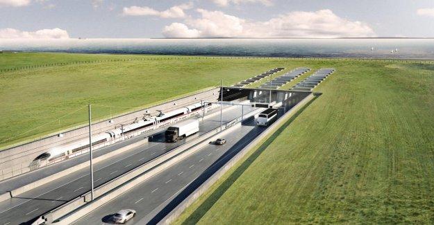Europe-Projet de construction - détroit de fehmarn-Traversée selon Nabu superflu