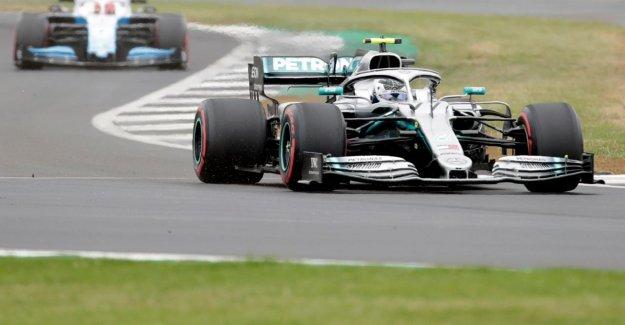 Formule 1: Bottas vole, Lewis Hamilton match à Domicile de la Pole position