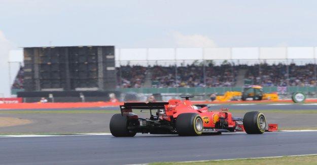 Formule 1: GP de Silverstone qu'est-ce qu'avec Sebastian Vettel los? - Vue