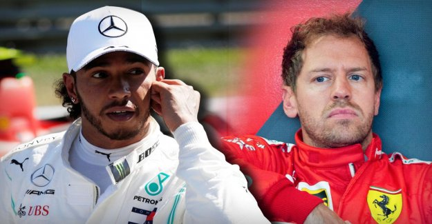 Formule 1 à Silverstone: Hamilton, Vettel fait de nouveau froid