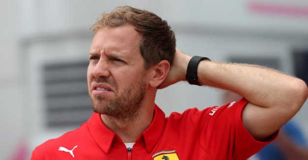 Formule 1 à Silverstone: Vettel reçoit aussi de l'Asphalte de Problème