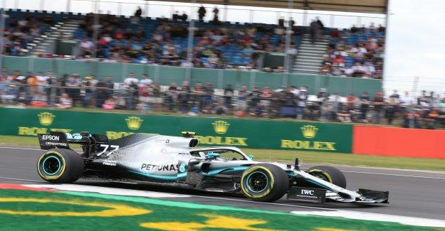 Formule 1: se passait en Qualifications pour le GP de Silverstone, la Vue