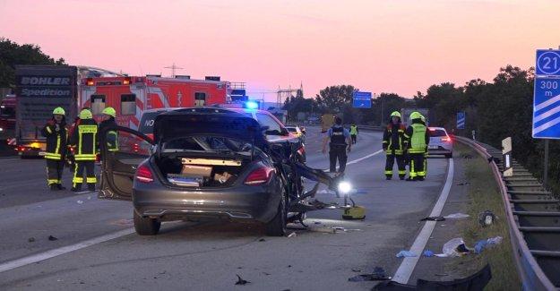 Francfort: Après un Accident sur A5: Victime mord Infirmière