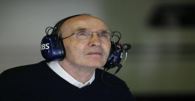 Frank Williams fête ses 50 ans de Formule 1-Anniversaire - Vue