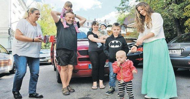 Fuite de la Deutsche Reichsbürger Famille obtient l'Asile en Russie