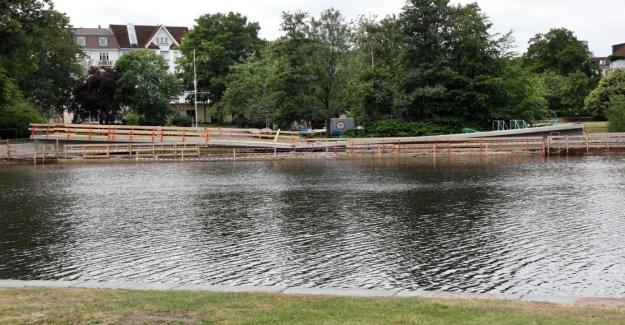 Hayns Parc de Rupture de Pont est démoli