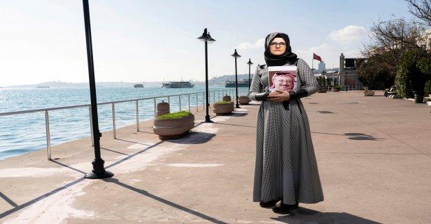 Interview avec Hatice Cengiz, avec Khashoggi, était fiancée Vue