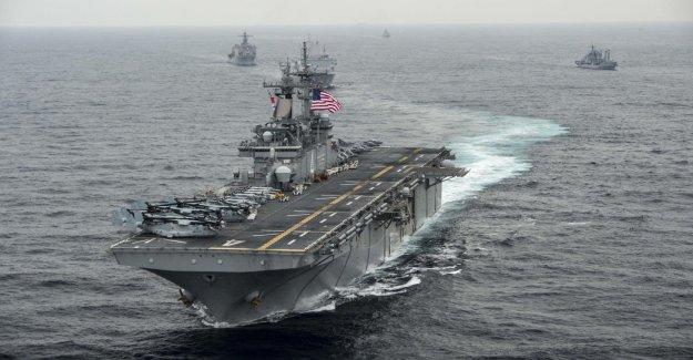 Iranien Drone de la Marine AMÉRICAINE détruit Vue