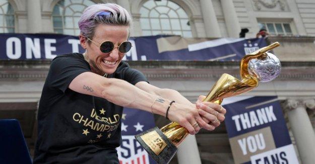 La Critique publique Trump de la coupe du monde Superstar Rapinoe donne le Ton