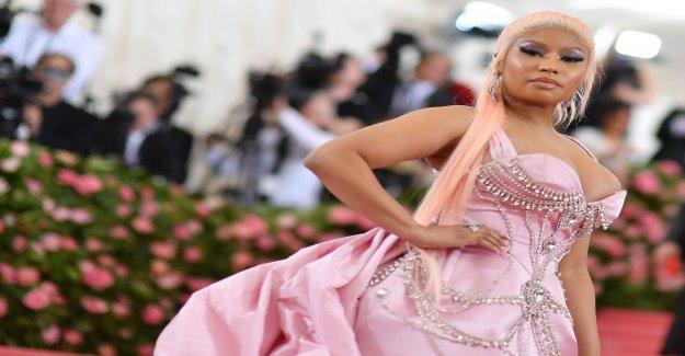 La chanteuse Nicki Minaj décline se Produit en Arabie Saoudite à partir de la Vue à