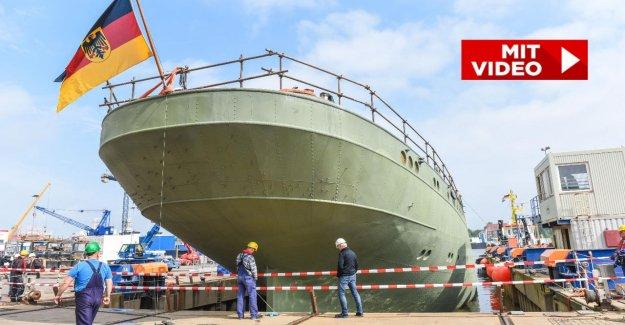 La réhabilitation du Marineschulschiff: Gorch Fock nouveau eingedockt